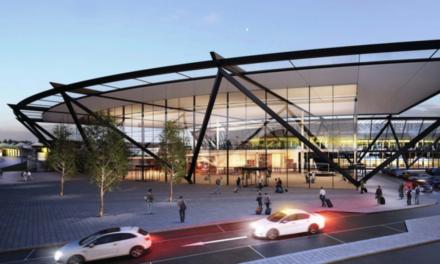 Visite du futur Terminal 1 de L'Aéroport de Lyon Saint Exupéry